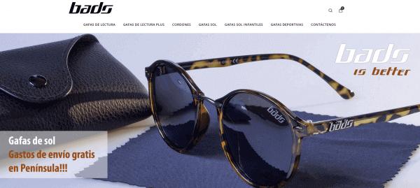 Javajan. Nueva web para la marca de gafas Bads