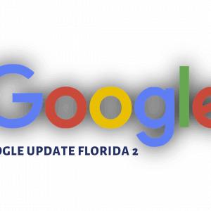 Nuevo algoritmo de Google: Florida 2