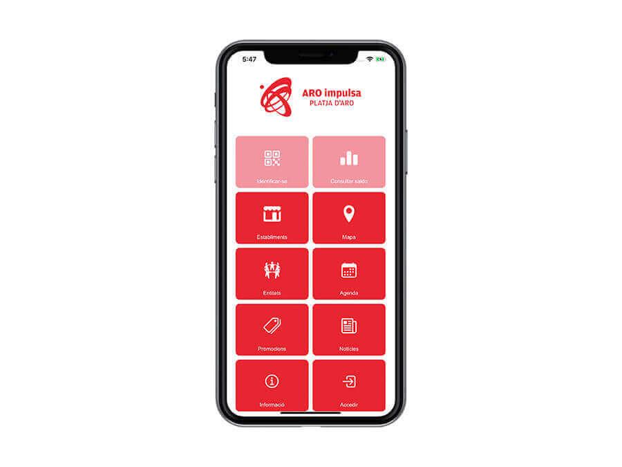 Creación de una App para Aro impulsa