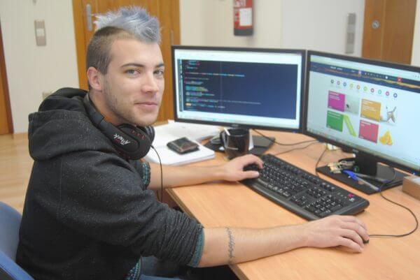 Javajan. Marc Gimeno, Programador web