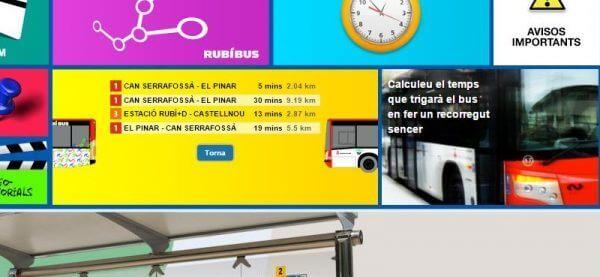 Javajan. Módulo para consultar en tiempo real el estado del bus de Rubí