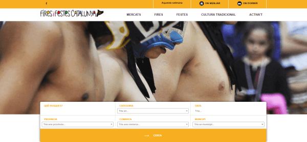 Javajan. Creación de una web para Fires i Festes de Catalunya