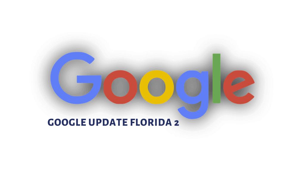 Javajan. Nuevo algoritmo de Google: Florida 2
